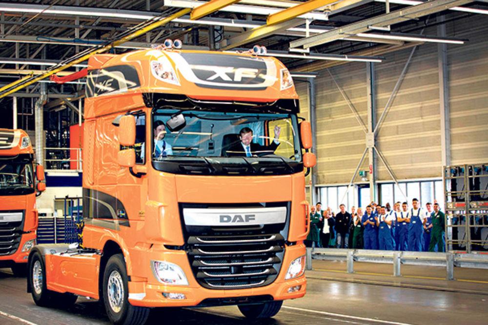 Najveći proizvođači kamiona upravljali kartelom 14 godina