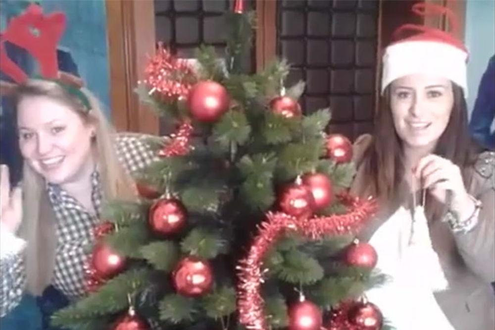 (VIDEO) ČESTITKE: Ivana Maksimović, Andrea Arsović i Zorana Arunović vam žele srećnu Novu godinu