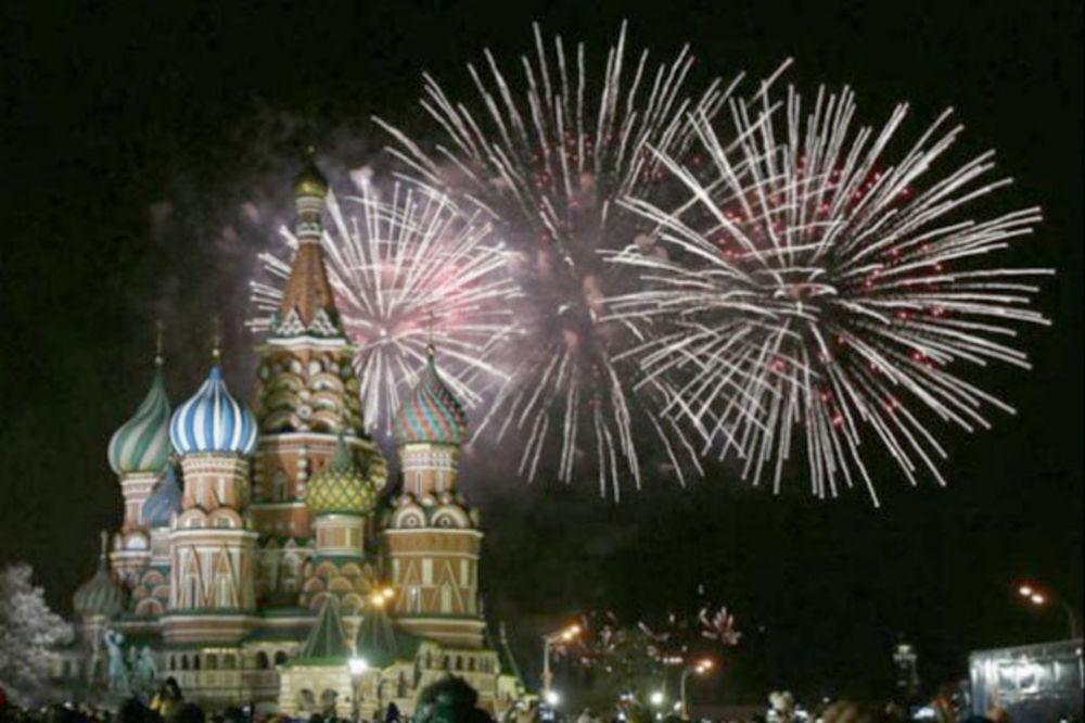NOVA GODINA U SVETU: Spektakularan vatromet u Moskvi, Nova godina dočekana u Japanu i Kini