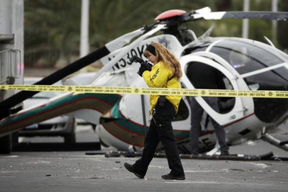 Srušio se helikopter u Las Vegasu