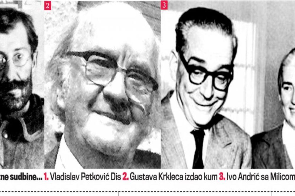 Velike ljubavi  velikih ljudi - Page 4 1-vladislav-petkovic-dis-2-gustava-krkleca-izdao-kum-3-ivo-andric-sa-milicom-1420844046-606358