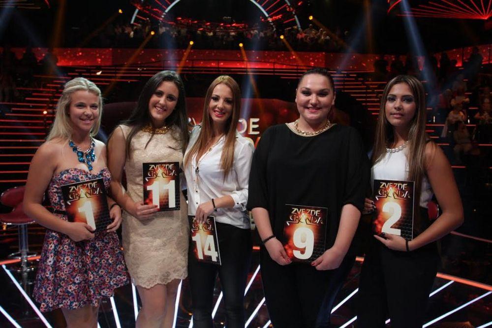 ZVEZDE GRANDA: Nikolina, Marjana,  Ivona, Elena i Ivana su prošle dalje!