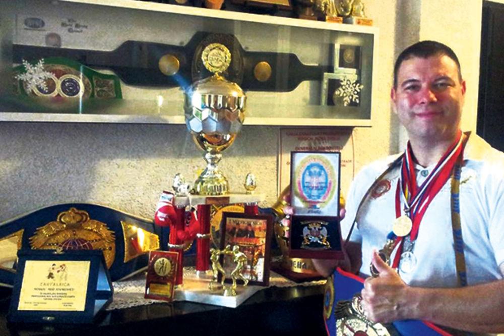 Nenad Stanković prvi bokser Srbije