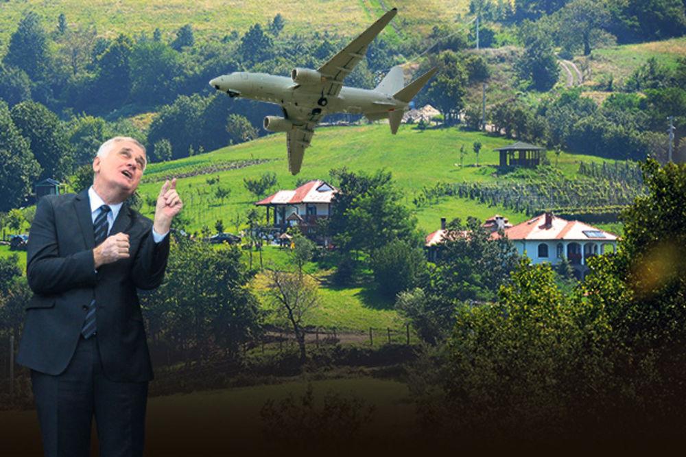 PARANOJA: Tomislav Nikolić ukida letove iznad Bajčetine?!