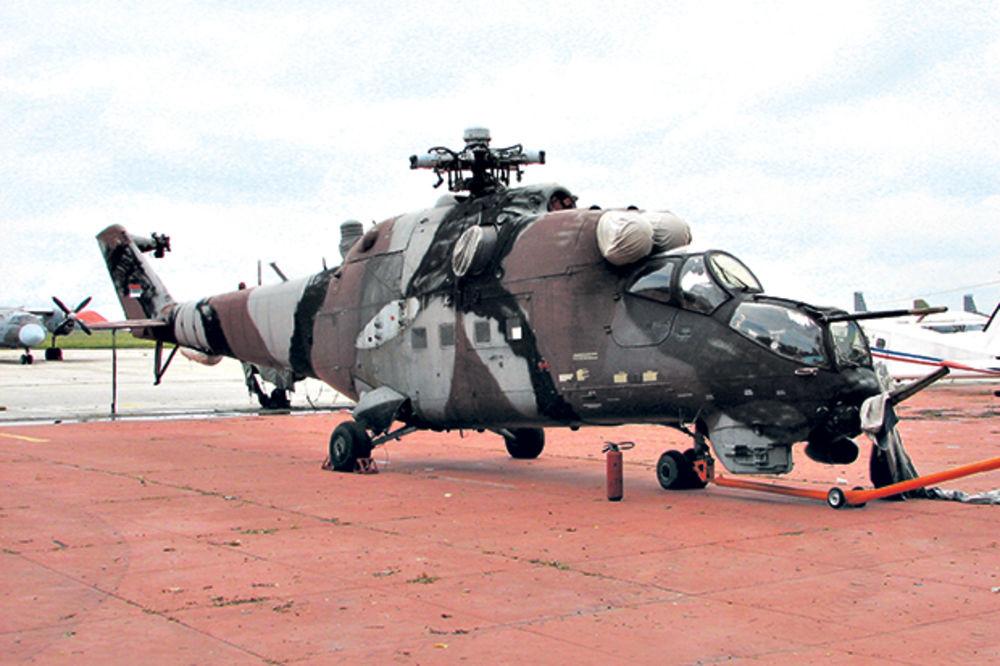 ŠKARTIRANI: Legijini helikopteri trunu u Vojsci