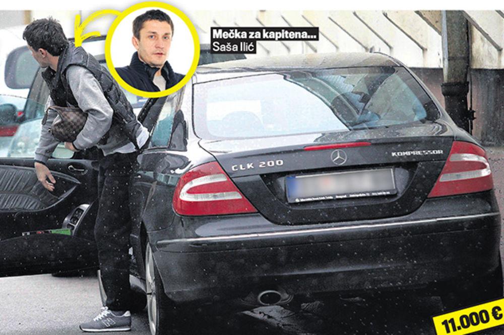 VOZNI PARK: Partizanovci voze bolje automobile od zvezdaša