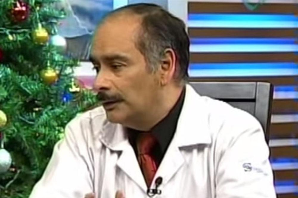 Biolog Enrike Ortiz izjavio je za meksičku TV da je ovo biće humanoidno (Foto: Printscreen YouTube)