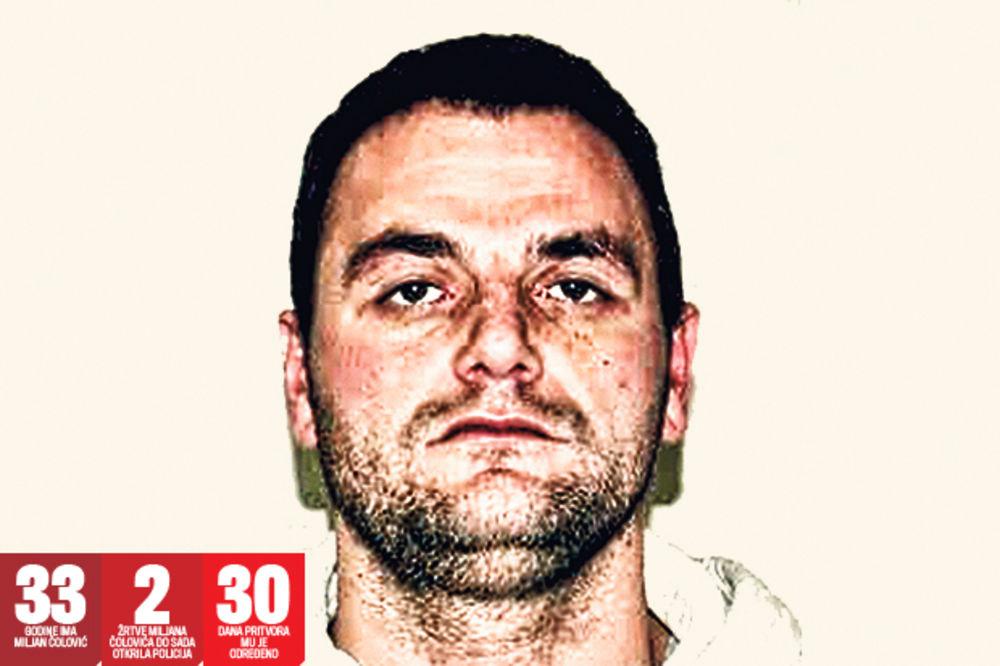 PAO MANIJAK: Vaterpolo reprezentativac silovatelj iz Banjičke šume!