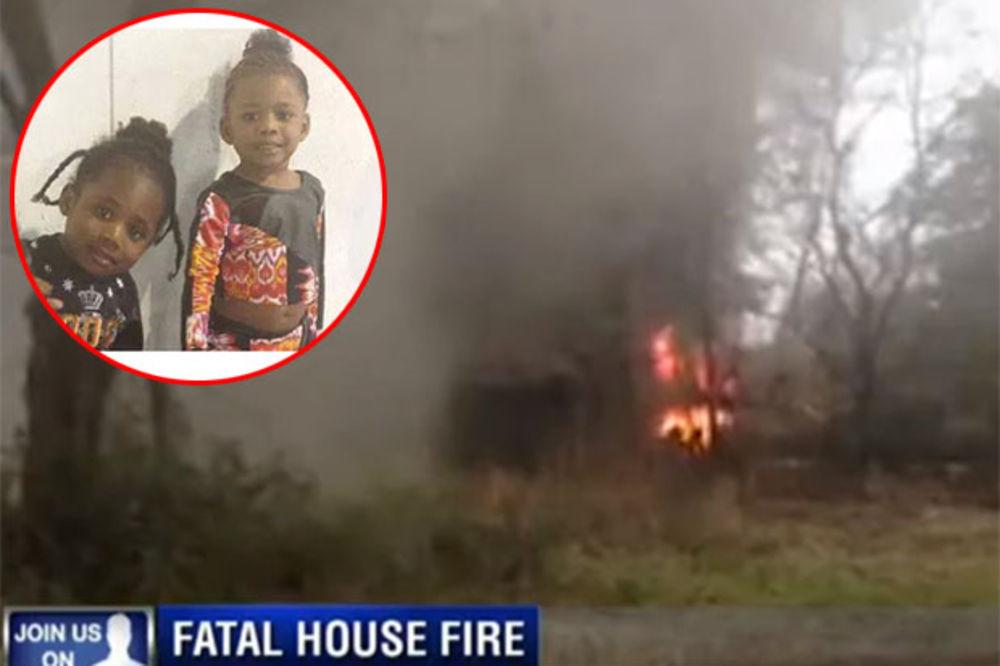 (VIDEO) OPTUŽENA ZA UBISTVO IZ NEHATA: Dok se majka frizirala, deca joj izgorela u požaru