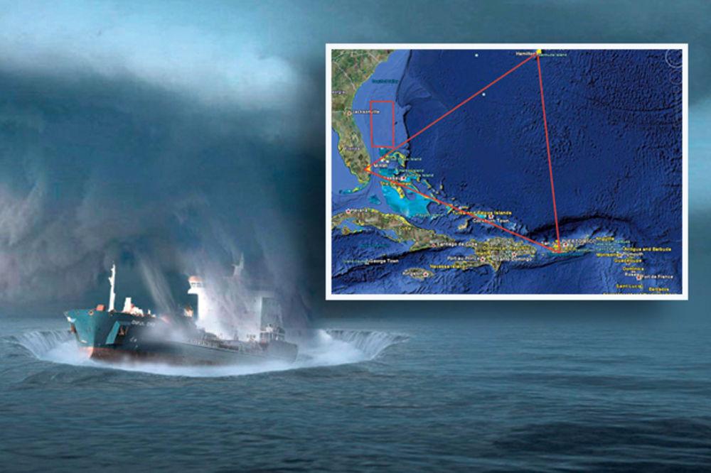 BERMUDSKI TROUGAO: Brodove otimaju duhovi, Atlantiđani i vanzemaljci