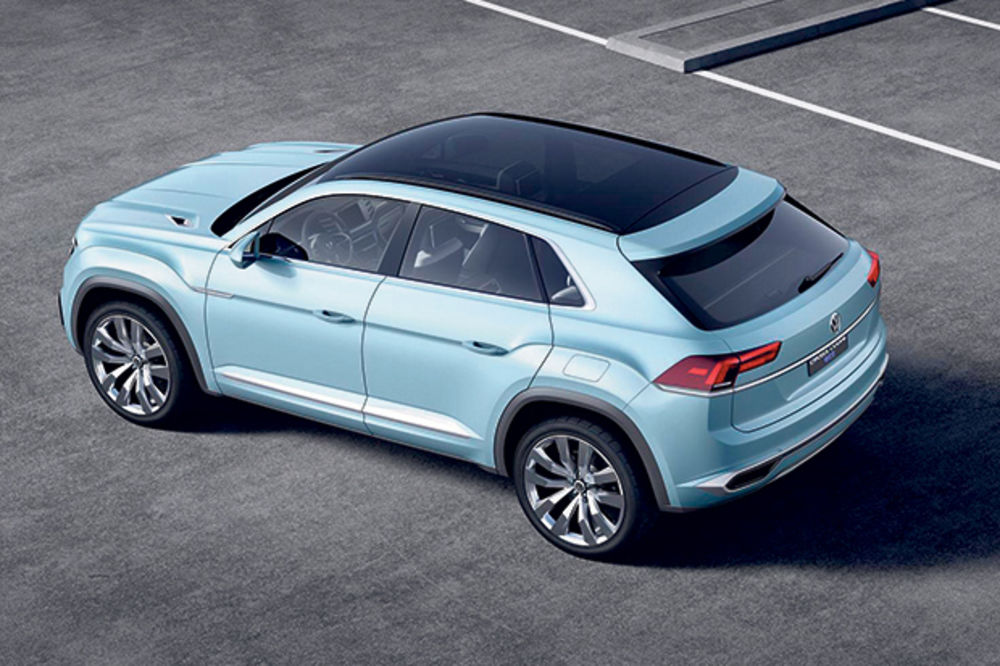 HIBRIDNI PUSTOLOV: Ovo je VW kros kupe GTE!