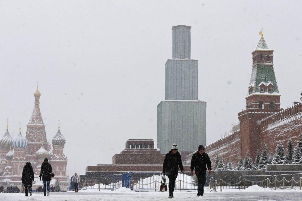Neige Kremlin, Photo Reuters