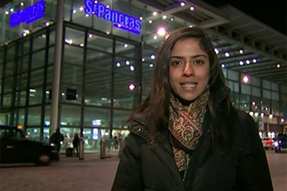 NESREĆA UŽIVO: Novinarka mirno izveštavala dok joj se iza leđa odvijala prava drama!