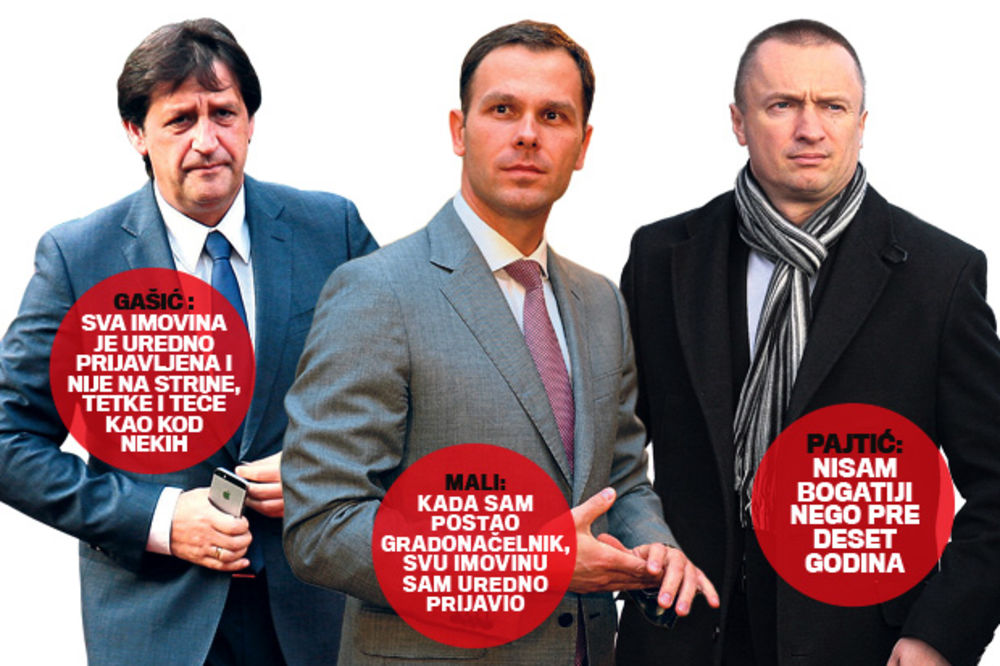 IMOVINA POLITIČARA NA PRIJATELJE, BRAĆU, KUMOVE: Poreska češlja i strine i tašte!