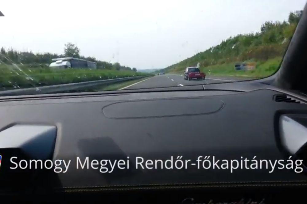 (UZNEMIRUJUĆI VIDEO) OD LAMBORGINIJA PRAH I PEPEO: Snimali vožnju na 330 km/h, a onda se čuo vrisak!