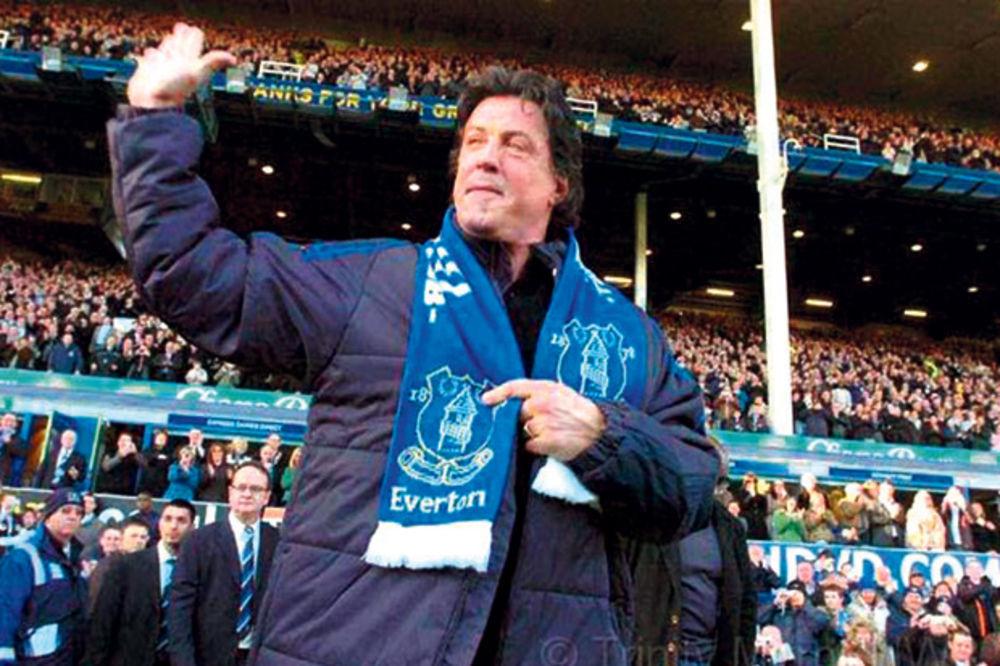 Silvester Stalone baksuzan Evertonu