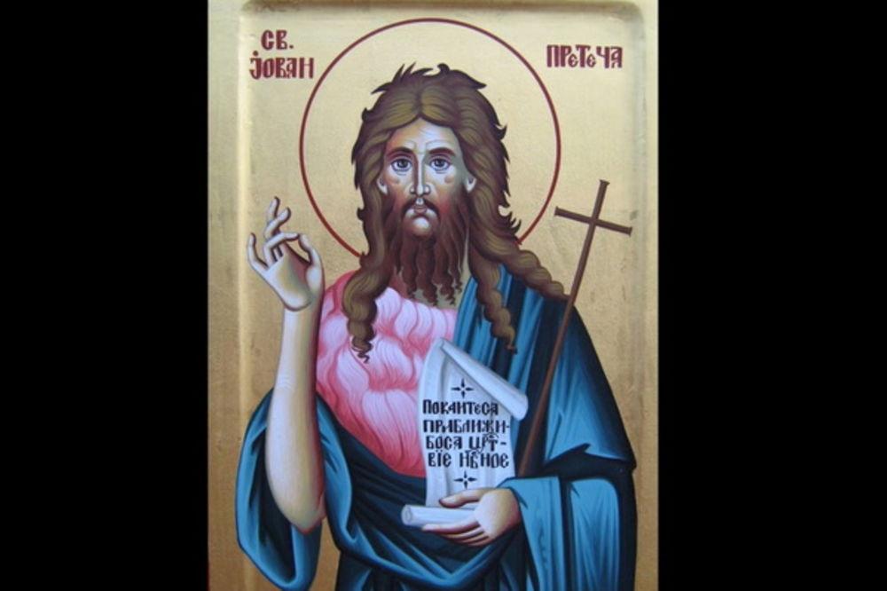 sveti jovan krstitelj, jovanjdan foto Youtube Pt