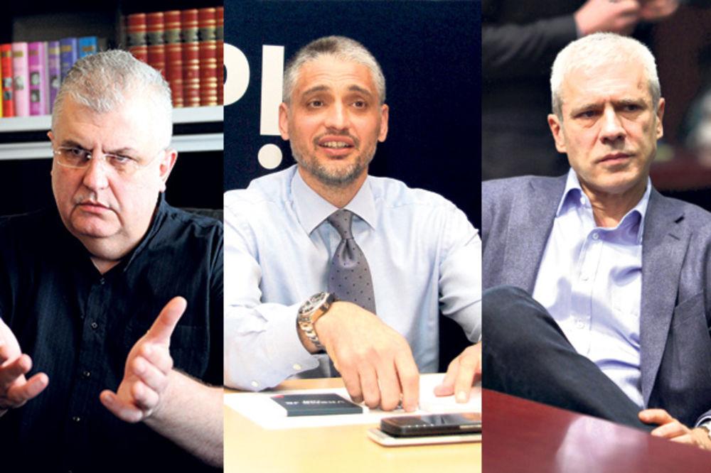 UVLAKAČI: Čanak, Čeda, Boris, ko se najbolje šlihta?
