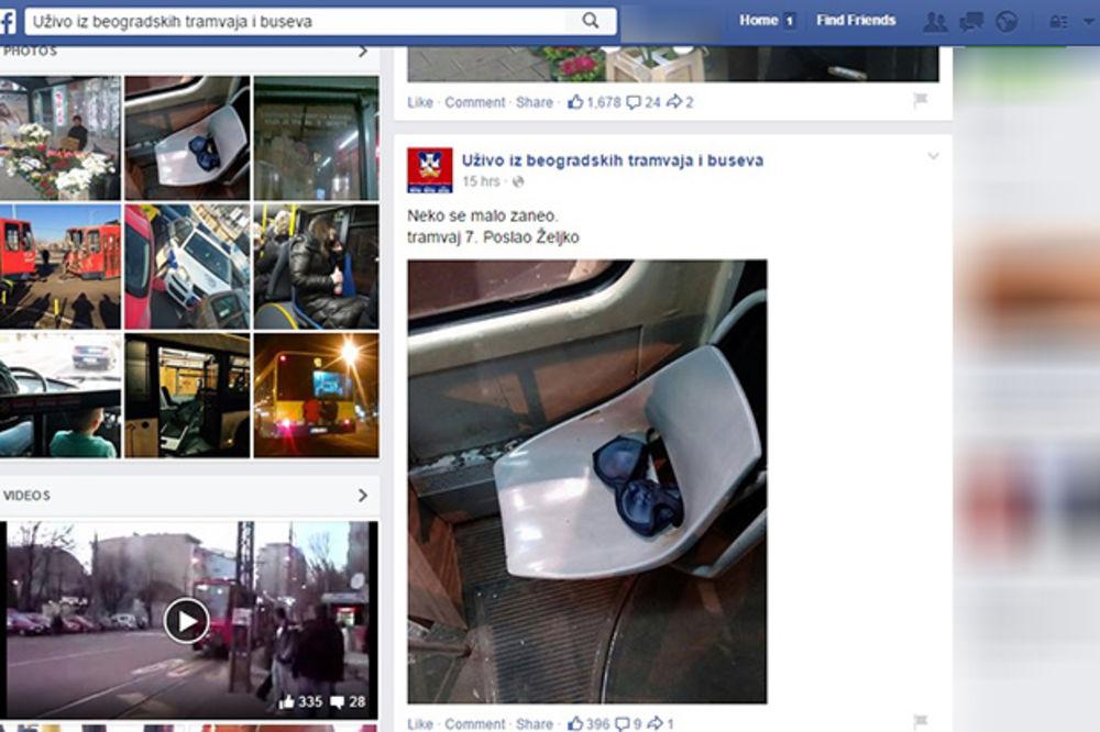 DEVOJKE, ŠTA ĆE OVO OVDE: Brushalter izgubljen u tramvaju?!