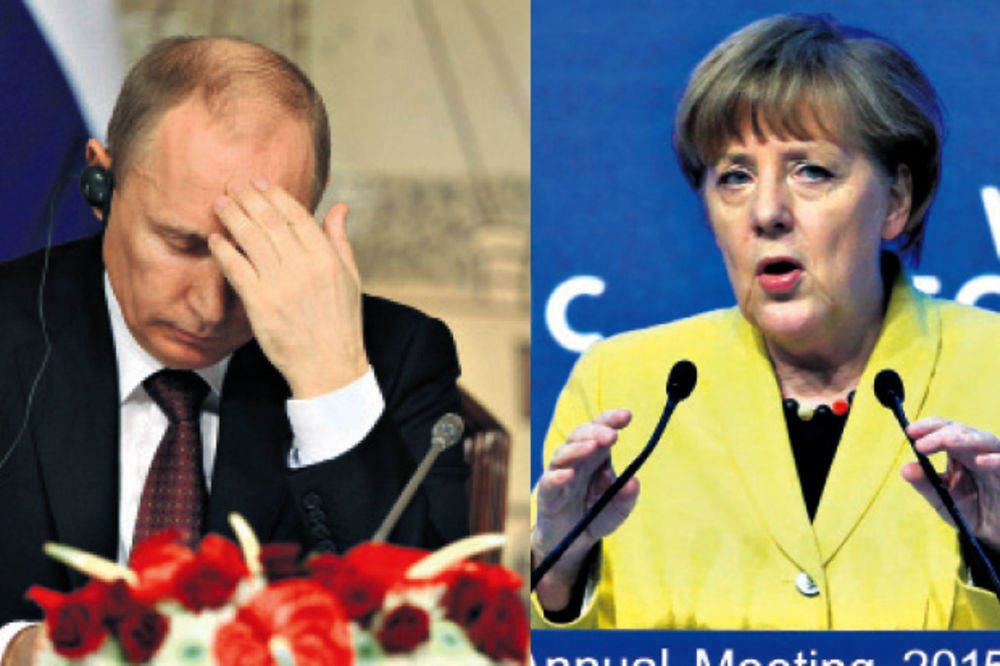 Merkelova: Putin je uništio mir u Evropi
