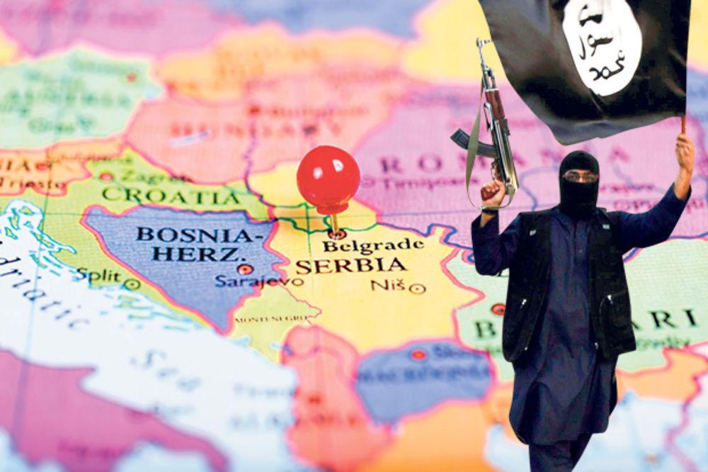 BALKAN SLEDEĆA META ISIS: Ako padne Damask, teroristi preko Makedonije i Srbije kreću na Evropu!