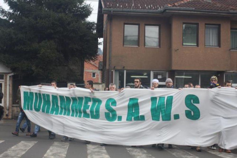 Protestna šetnja u Novom Pazaru: Ovo u Evropi neće tako lako proći kao 11. septembar