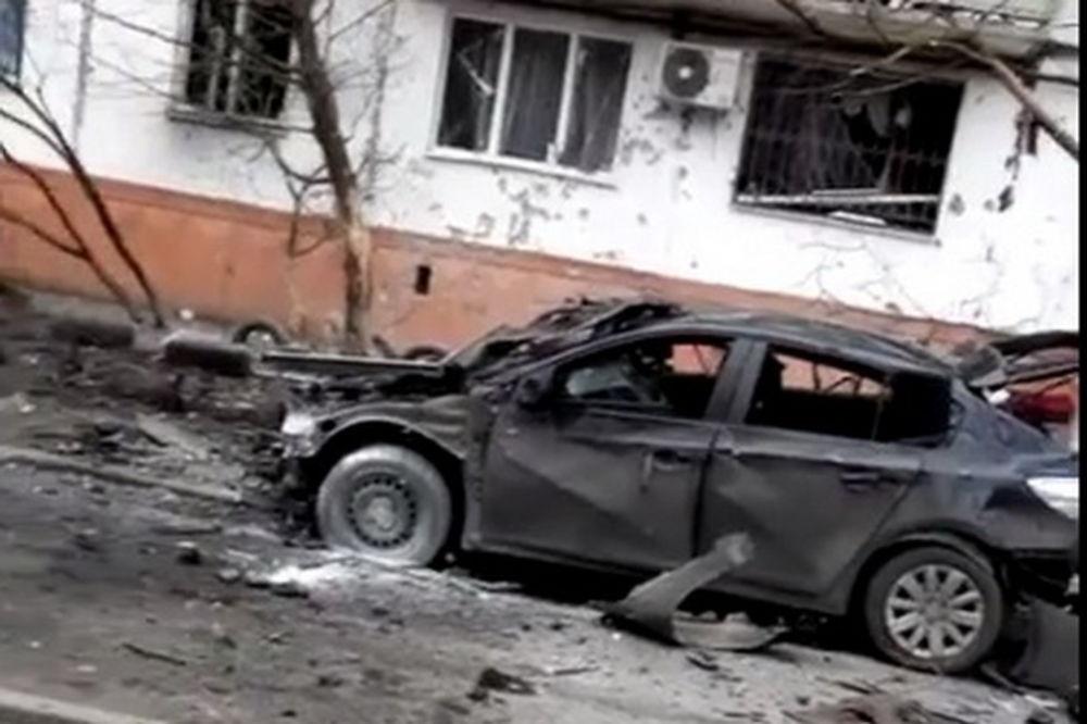 (VIDEO) BESNI RAT U MARIJUPOLJU: Gruvali bacači, poginulo 15 ljudi