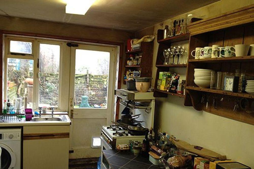 RENOVIRANJE STANA: kuhinja sa trpezarijom od neuglednog hodnika (PRE I POSLE)...