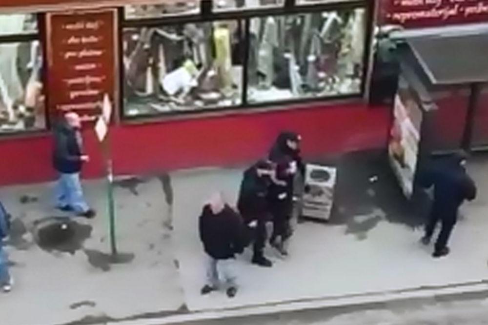 (KURIR TV) EKSKLUZIVNO: Pogledajte kako komunalna policija hapsi ženu zbog bus plusa
