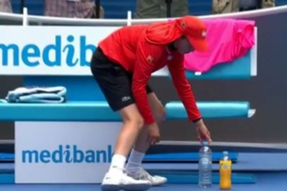 (VIDEO) RAFA JEL TAKO TREBA: Pogledajte kako je sakupljač lopti pred pobedu nasmejao Nadala