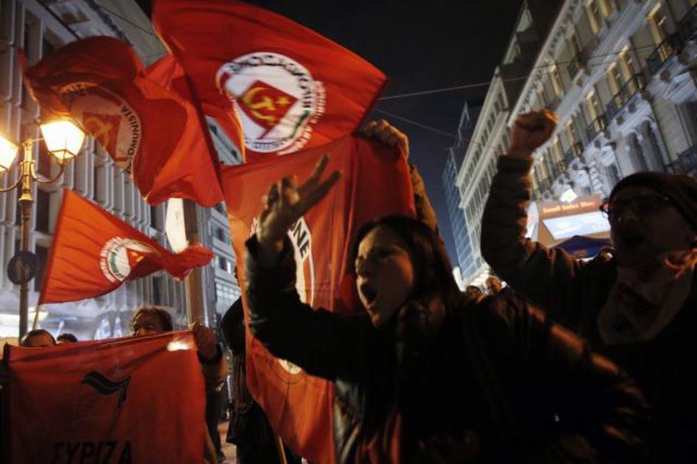 GRČKA SREĆE U LEVO:  Siriza slavi pobedu, Nova Demokratija priznala poraz!