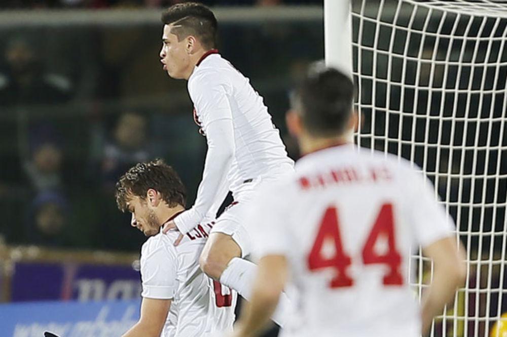 (VIDEO) ISPOŠTOVAO BIVŠI KLUB: Ljajić doneo bod Romi protiv Fiorentine, ali se nije radovao