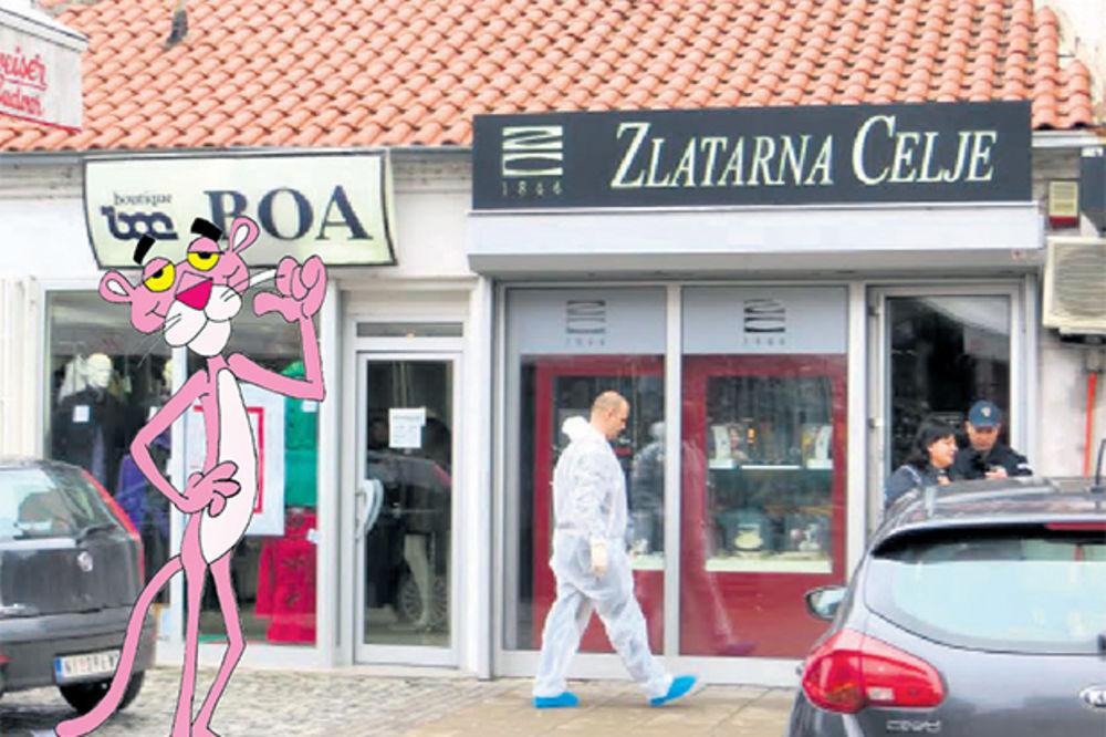 """KAO NA FILMU: Vikend """"pink panteri"""" pljačkaju po Nišu?!"""
