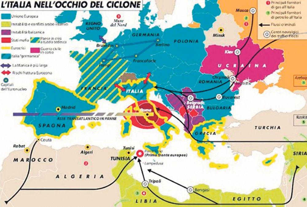 Mapa Kriminala Srbija Je Nestabilna Zemlja Kosovo Mafijasko