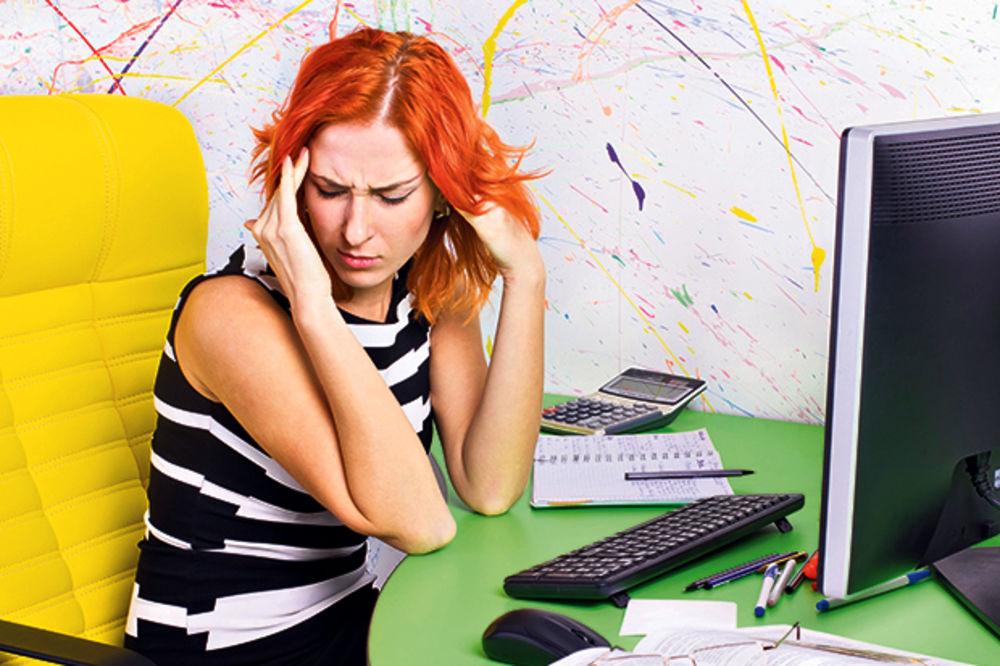 Stres na poslu može da izazove šlog