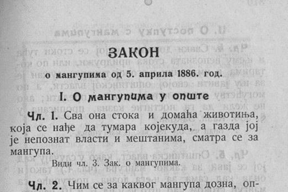 ŠTA SU MANGUPI A ŠTA STOKA: Ova definicija nastala je 1886. godine