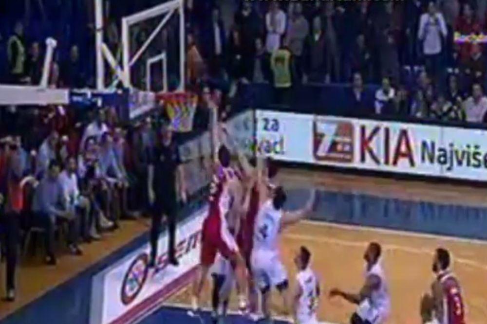 (VIDEO) ODBOJKA ZA NASTAVAK NEPOBEDIVOSTI: Pogledajte kako je Kalinić utišao Moraču