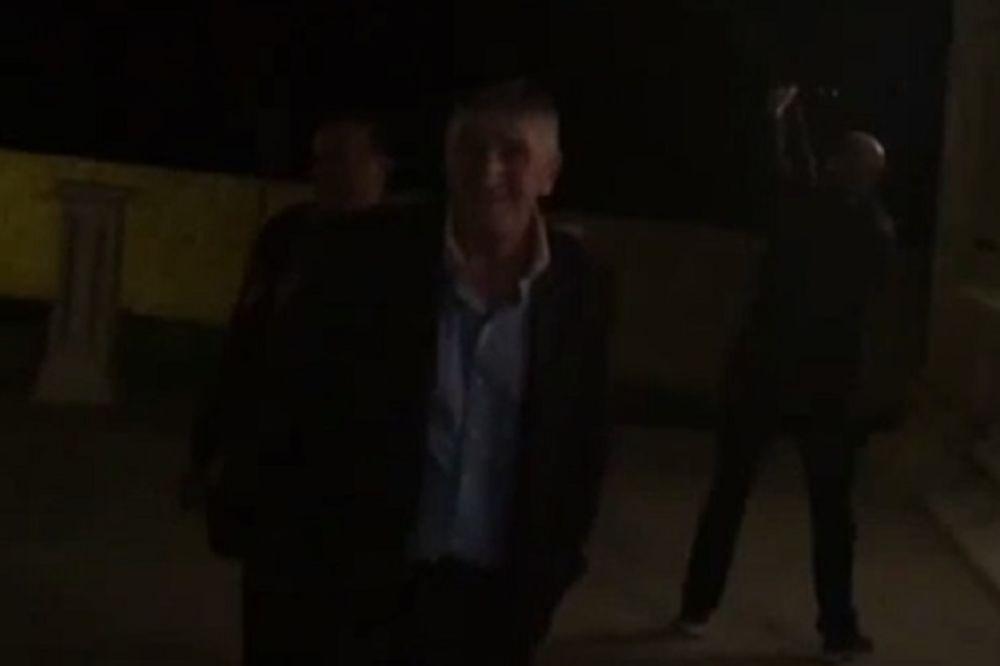 (VIDEO) Ovako se slavilo u Nikšiću: Rafali na veridbi ćerke Brane Mićunovića!