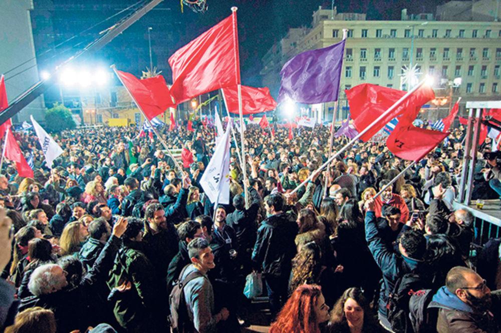 KOLAPS ZBOG POBEDE KOMUNISTA U GRČKOJ: Evro počeo da tone, levičari prete Evropi
