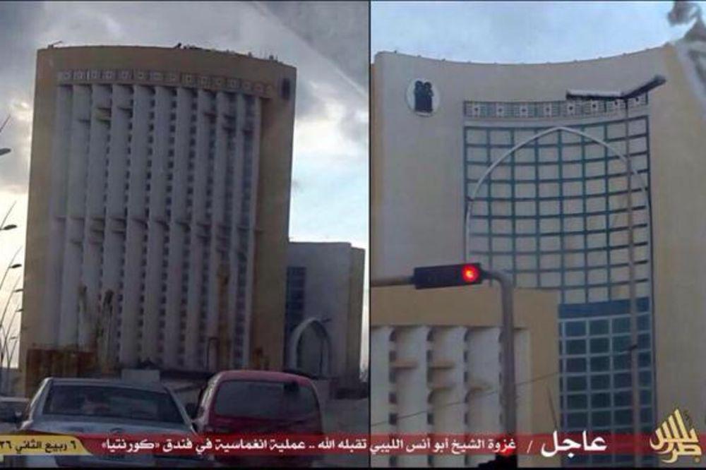 (VIDEO) NAPAD NA HOTEL U TRIPOLIJU: Teroristi ISIL ubili 8 osoba, među kojima dve žene