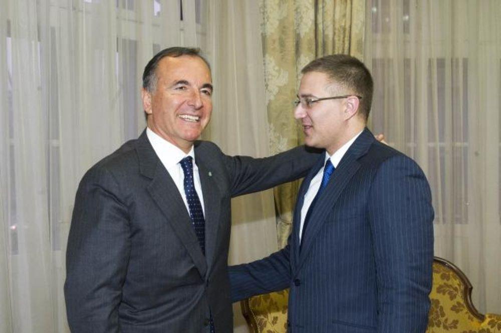 FRATINI U BEOGRADU: Vučićev savetnik prvo se sastao s ministrom Stefanovićem