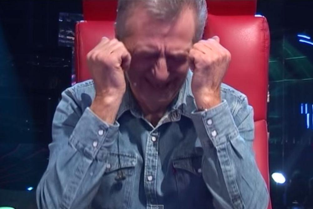(VIDEO) POVREDILA GA: Ceca rasplakala Miroslava Ilića!