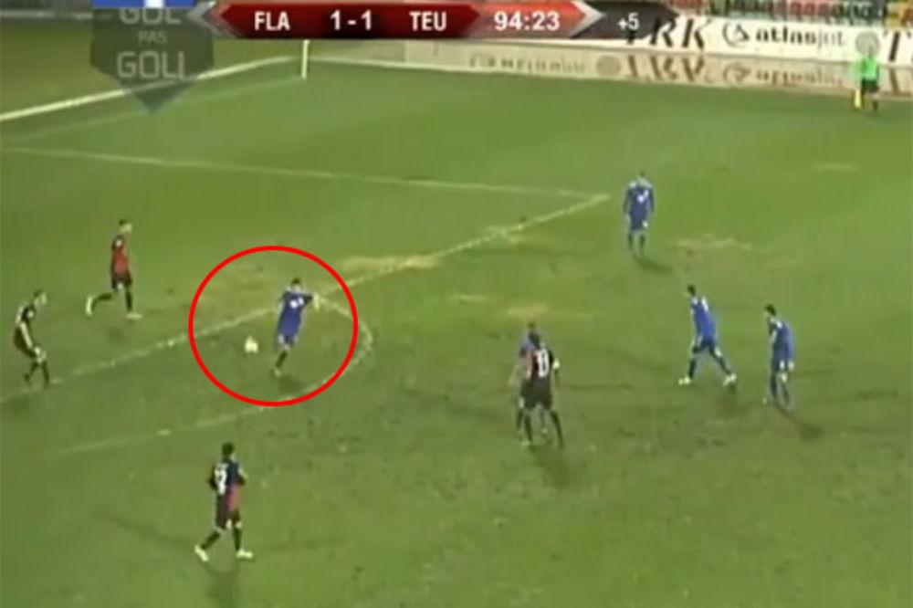 (VIDEO) SMEJE IM SE CEO SVET: Pogledajte kako su Albanci namestili utakmicu