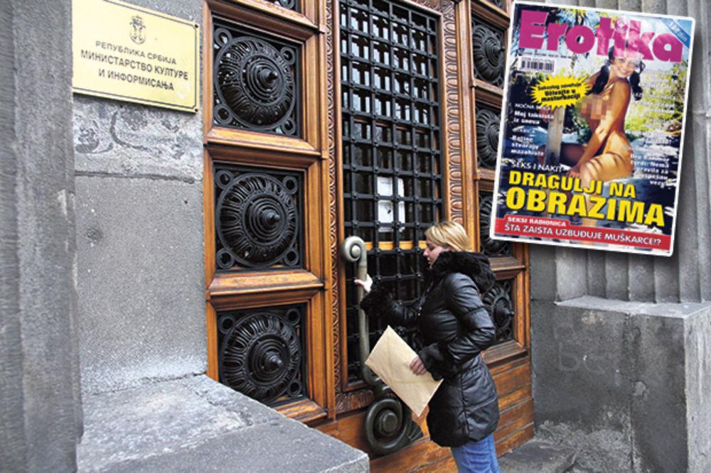 KURIR TASOVCU DOSTAVIO ČASOPISE: Ministre, ovo vam je pornografija!