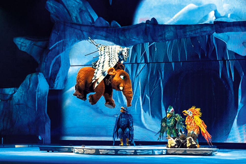 LEDENO DOBA U ARENI: Omiljeni junaci iz crtaća na ledu