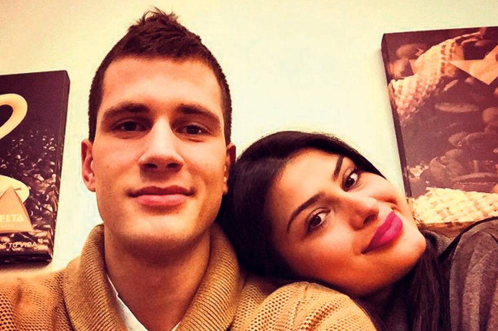 Nemanja Nedović: Mina, volim te, hvala ti što me činiš srećnim