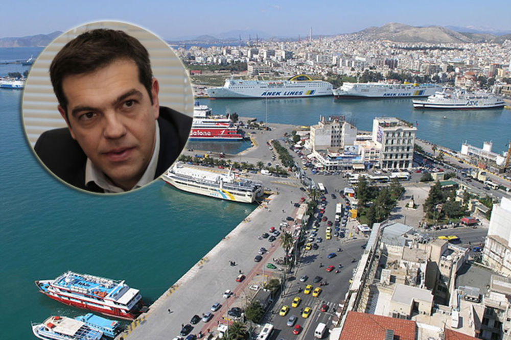 ALEKSIS CIPRAS POČEO: Grčke luke i elektrane Grcima!