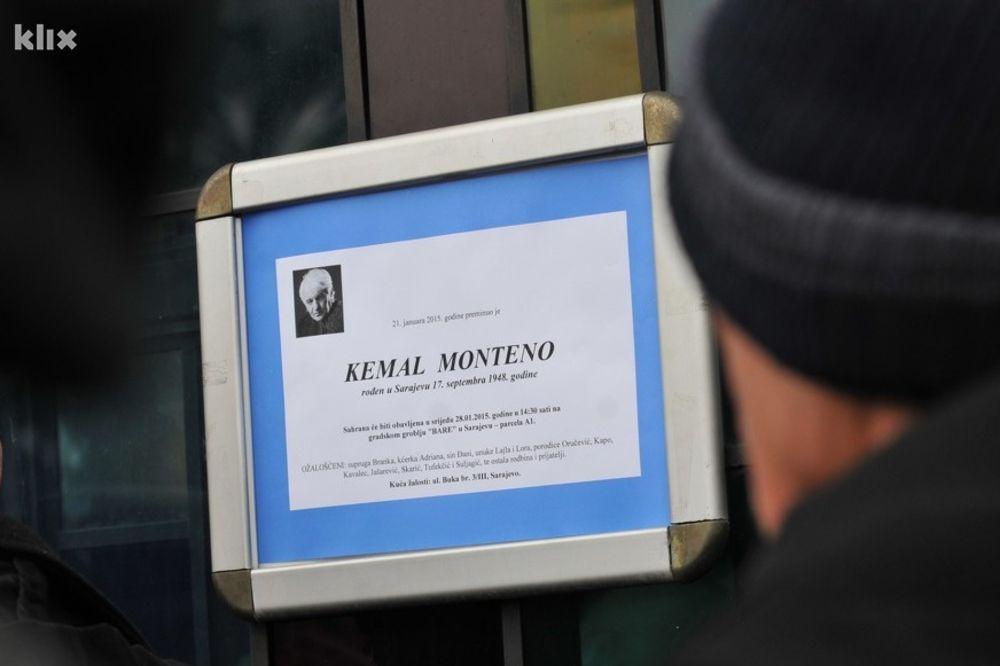SUZE I RUŽE NA KOVČEGU: Hiljade ljudi ispratilo Kemala Montena!