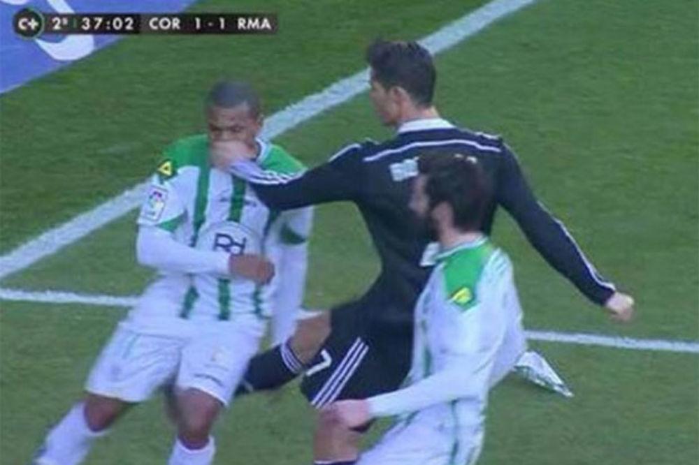 (VIDEO) ZATO JE ON RONALDO: Šokantno blaga kazna za najboljeg fudbalera sveta