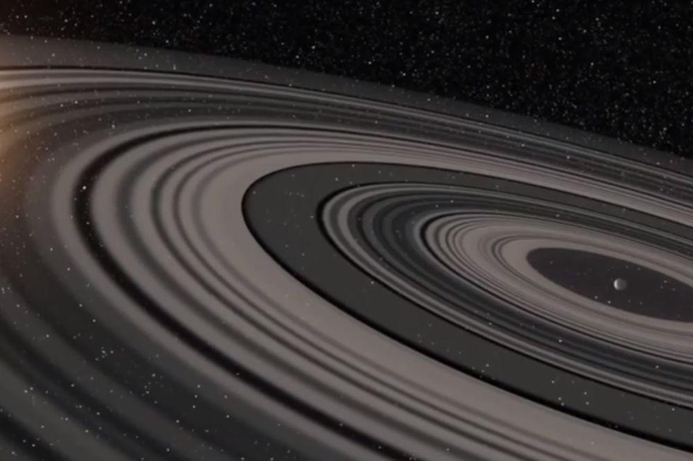 OVAJ SATURN BI SE VIDEO SA ZEMLJE: Otkriven novi svemirski gospodar prstenova! (VIDEO)